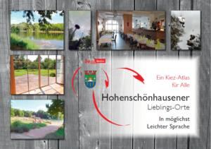 Titel-Seite vom Kiez-Atlas Hohenschönhausen.