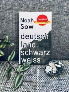 Foto vom Buch: Deutschland schwarz weiss, vor grauem Hintergrund